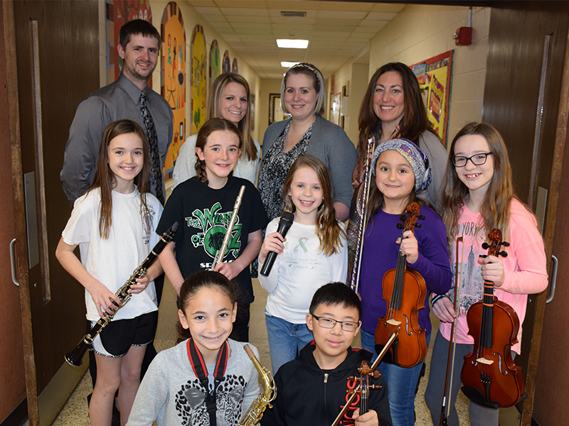 All-County Musicians image
