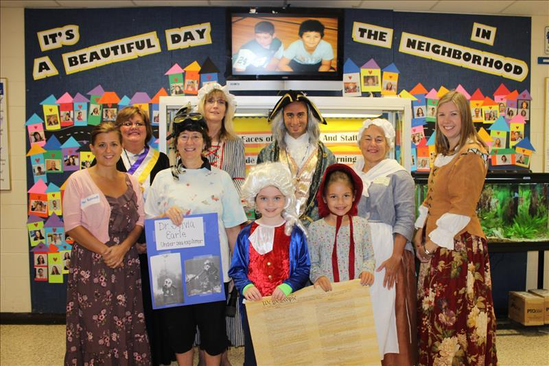 Wading River School Celebrates Constitution Day!