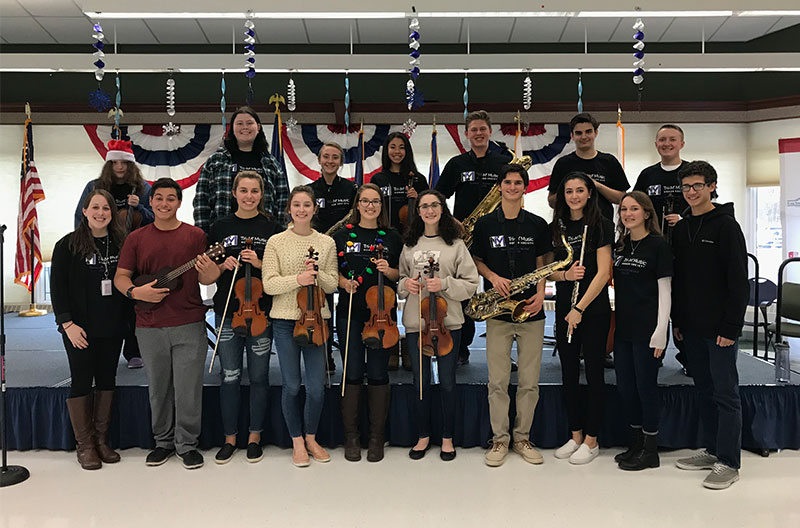 High School Students Share the Gift of Music