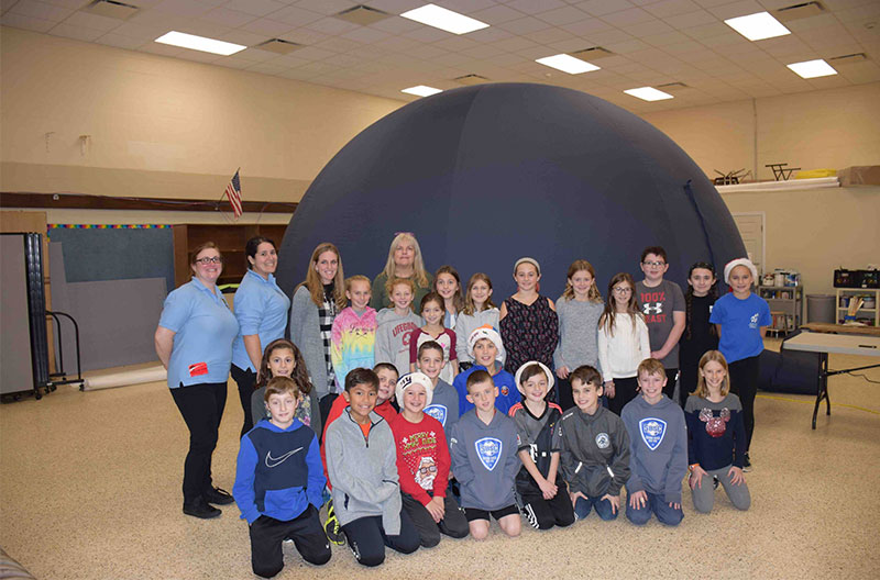 Out-of-this world experience for Wading River School...