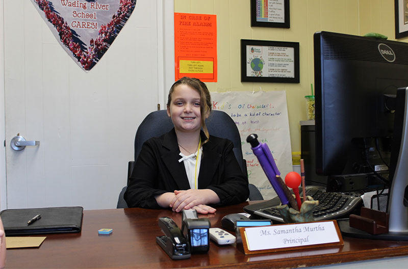 Wading River School student takes leadership role as...