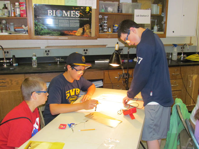"Working Hand in Hand with BNL Scientists <span class=""small"">(more)</span>"
