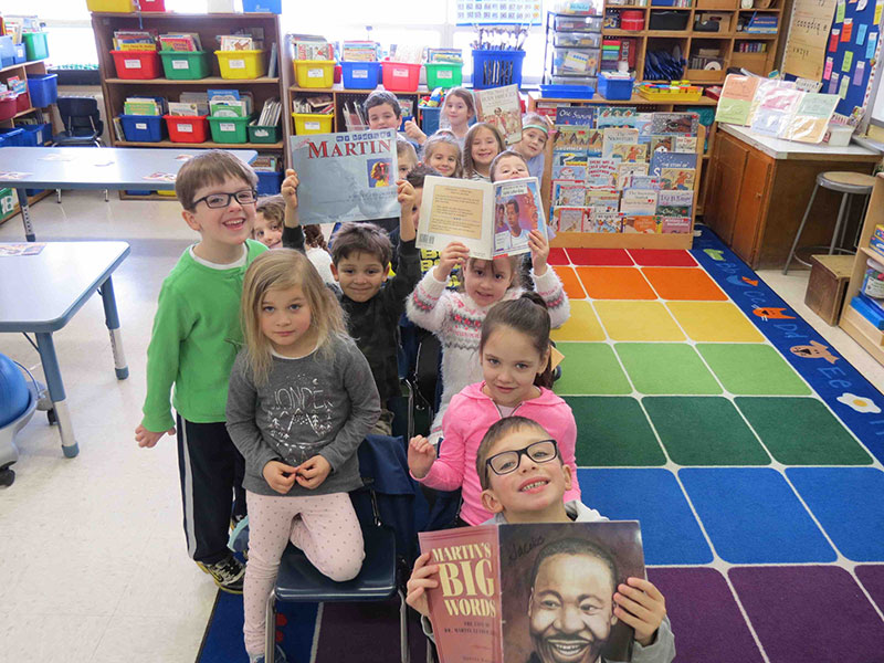 Kindergartners Learn African American History Through...