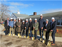 Officials Break Ground on School Construction Projects