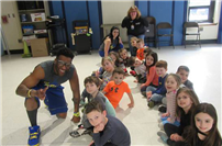 Miller Avenue students develop motor skills and movement patterns photo