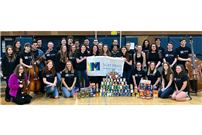 Successful Tri-M 'Suites and Treats' at SWR HS photo