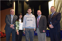 SWR's Keyi Chen honored for math abilities photo