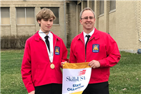 First place for SWR student at SkillsUSA state competition photo