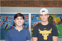 Two Seniors Recognized as Commended Students photo