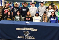 Seniors Commit to College Sports photo