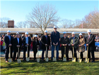 Officials Break Ground on School Construction Projects 2