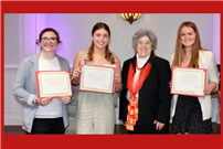 Talented Trio Earn Riverhead Women's Club Scholarships photo