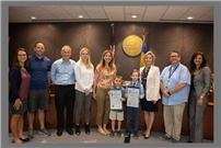 Elementary Duo Honored by BOE, Legislator Anker  thumbnail121197