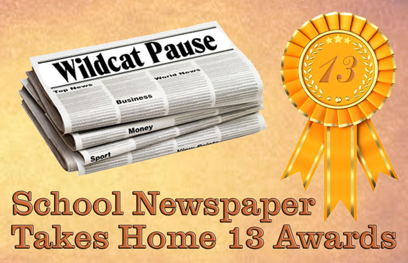 School Newspaper Takes Home 13 Awards